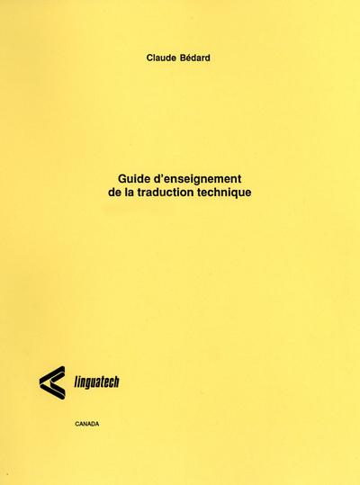 Guide d'enseignement de la traduction technique