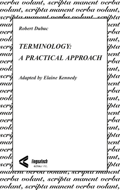 Terminology: A Practical Approach